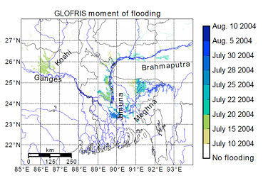 A quick model to assess current and future global river flood risk