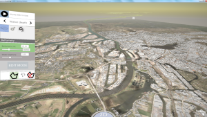 3D interactive modelling using Delft3D Flexible Mesh - Elbe-Hamburg, Germany-1366x768