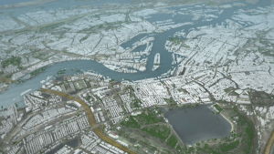 Rotterdam - Delft3D Flexible Mesh using 3D interactive modelling2-1366x768