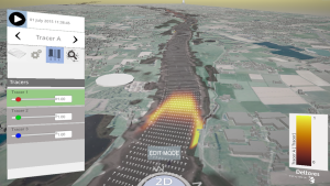 Waal River - 3D interactive modelling using Delft3D FM with tracer functionality-1366x768