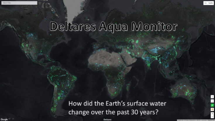Aqua Monitor-How did the Earth's surface water change-736x414